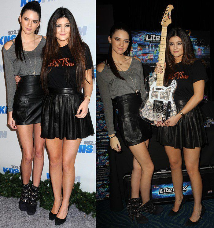 How to Style a Leather Skirt Like Kendall and Kylie Jenner