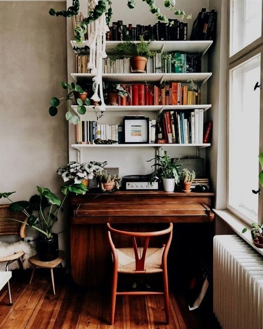 55 Small Scandinavian Home Office Ideas That Will Make You Want To Work Overtime Scandinavianofficechair Scandinavianoff Ide Dekorasi Kamar Rumah Hijau Dekor