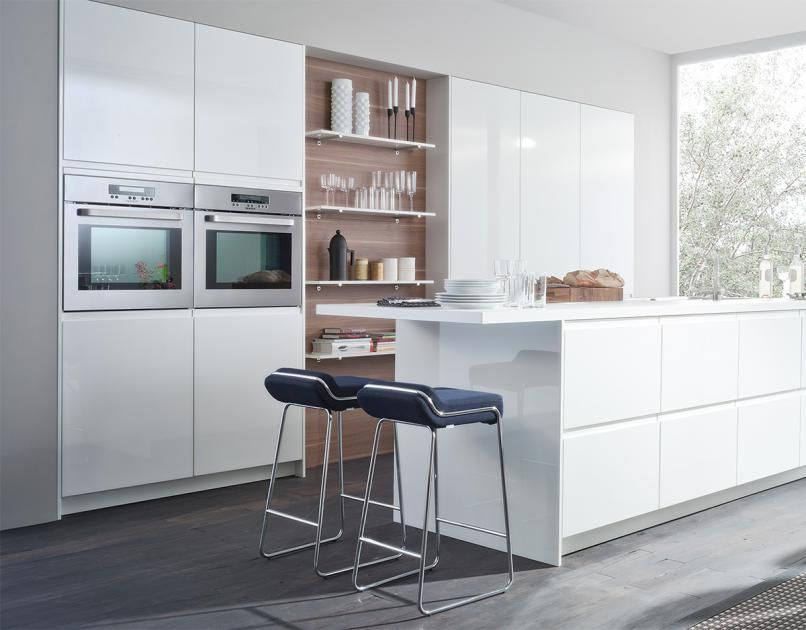 Die besten Wohntipps für die Küche An Stauraum denken Open - bild f r die k che