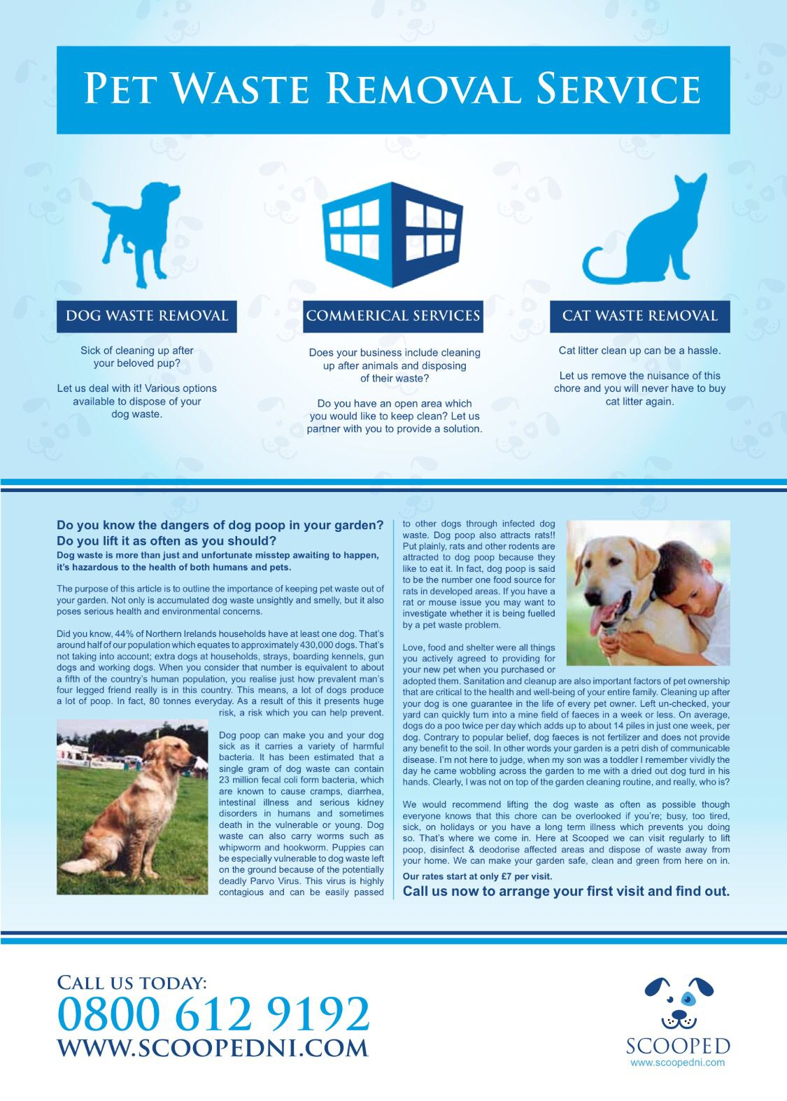 Love Dogs Magazine Scooped Northern Ireland S Pet Waste Removal Service Scooped Petwasteremoval Lovedogs Dogmagaz With Images Dog Magazine Service Cat Dogs Waste