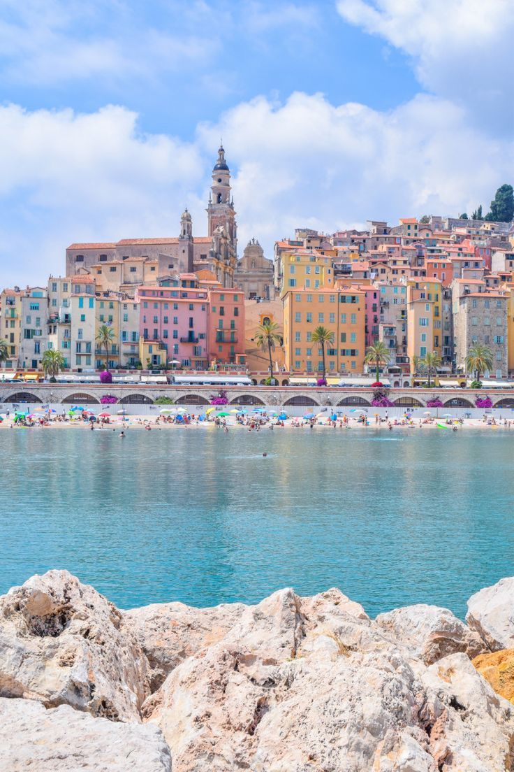 The Perfect Day Trip to Menton, France from Nice. #france #travel #photography #adventure