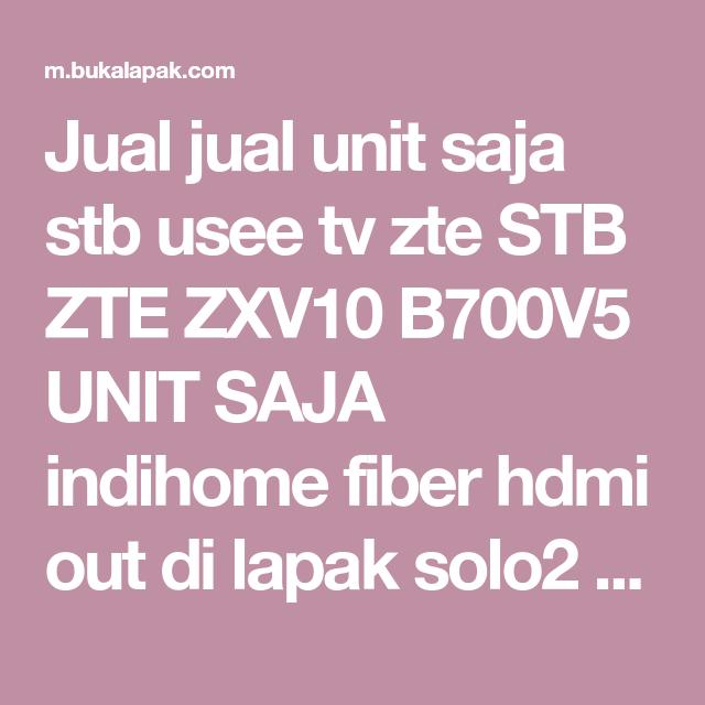 Zte Zxv10 B700v5 Flash