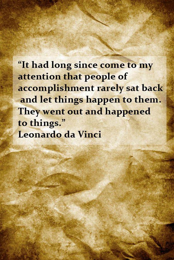 Leonardo da Vinci inspirational quote Inspirational