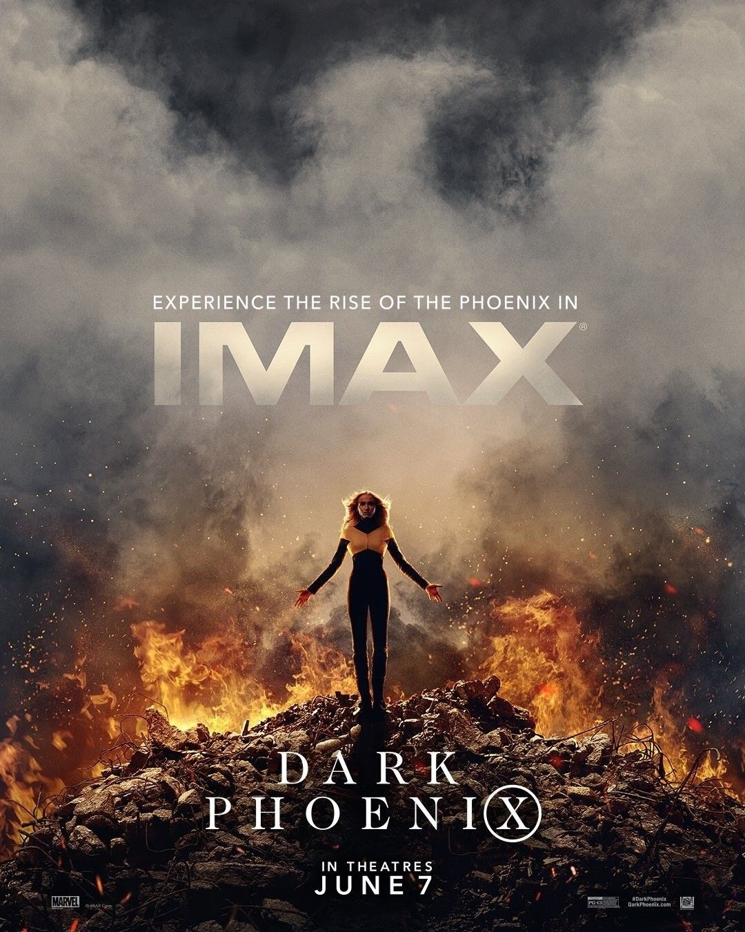 Dark Phoenix Imax Poster Dark Phoenix Imax New Movie Posters