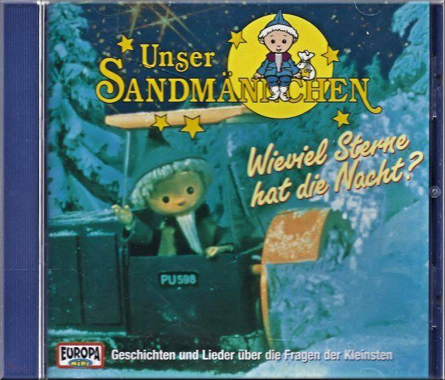 Hörspiel CD Sandmännchen Wieviel Sterne hat die Nacht - @mekpshop