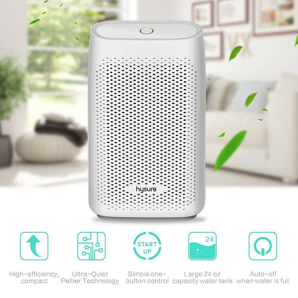 Dehumidifier hysure Mini Air Dehumidifiers 700ml Portable