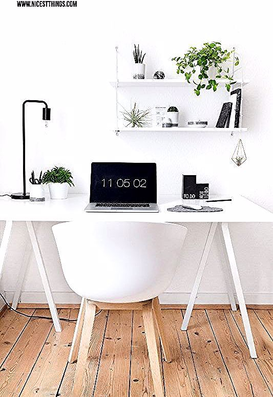 Urban Jungle Deko Im Home Office Pflanzen Deko Am Schreibtisch Nicest Things In 2020 Home Decor Desk