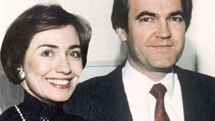 Hillary and Vince Foster...the early years