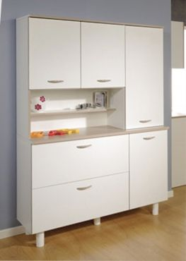 Küchenbuffet Dario #Möbel #weiß #Schrank #Küche | Weiße Möbel ...