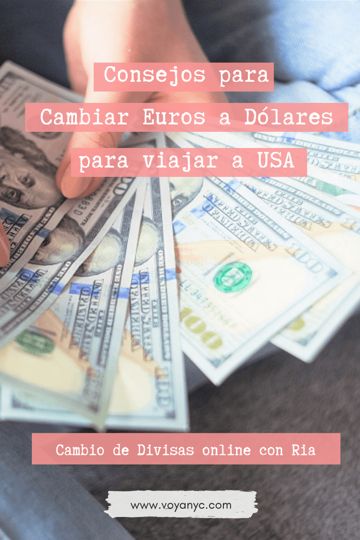 Cambiar Euros A Dólares Para Viajar A Estados Unidos Viajar A Estados Unidos Cambio De Divisas Estados Unidos