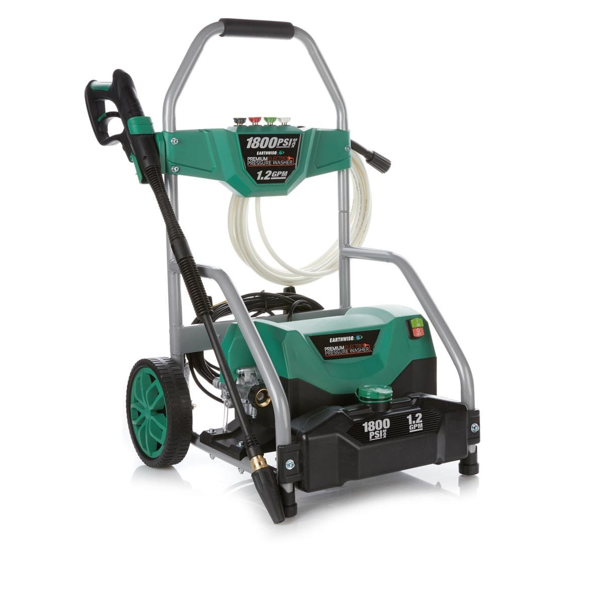 Earthwise 13 Amp Pressure Washer Electric Pressure Washer Pressure Washer Earthwise