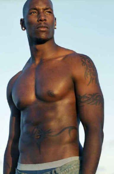 Tall naked black women