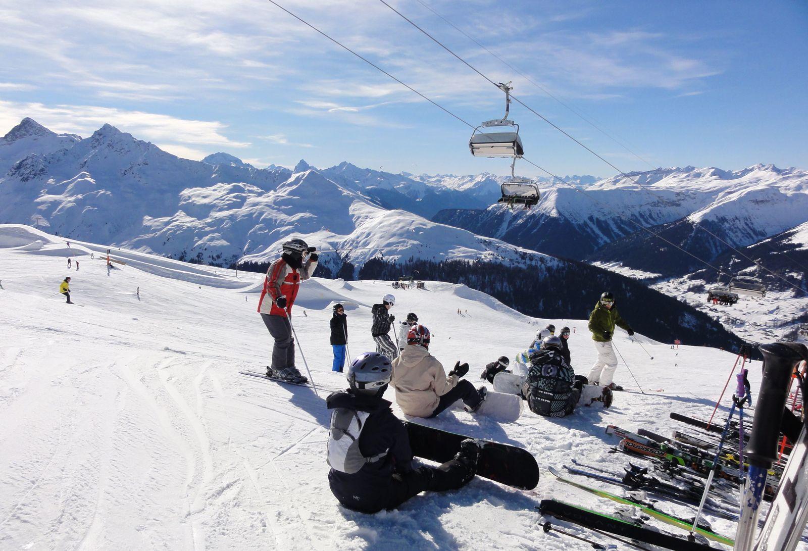 Davos, Jakobshorn http://www.lumipallo.fi/