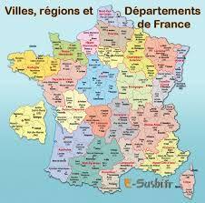 carte de france à imprimer avec villes Résultat de recherche d'images pour