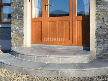 Reclaimed Granite Step Material Landscape Stone Front Steps Outdoor Decor