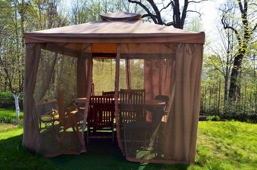 27 Gazebos With Screens For Bug Free Backyard Relaxation