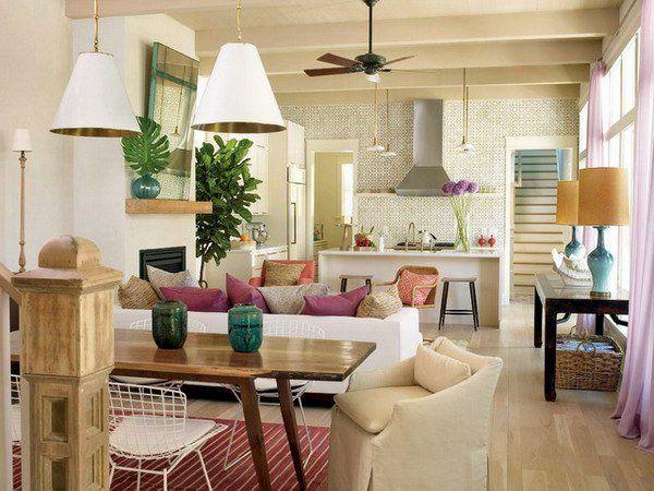Modernes Wohnzimmer Einrichten modernes wohnzimmer einrichten wohn und küchenraum kombinieren