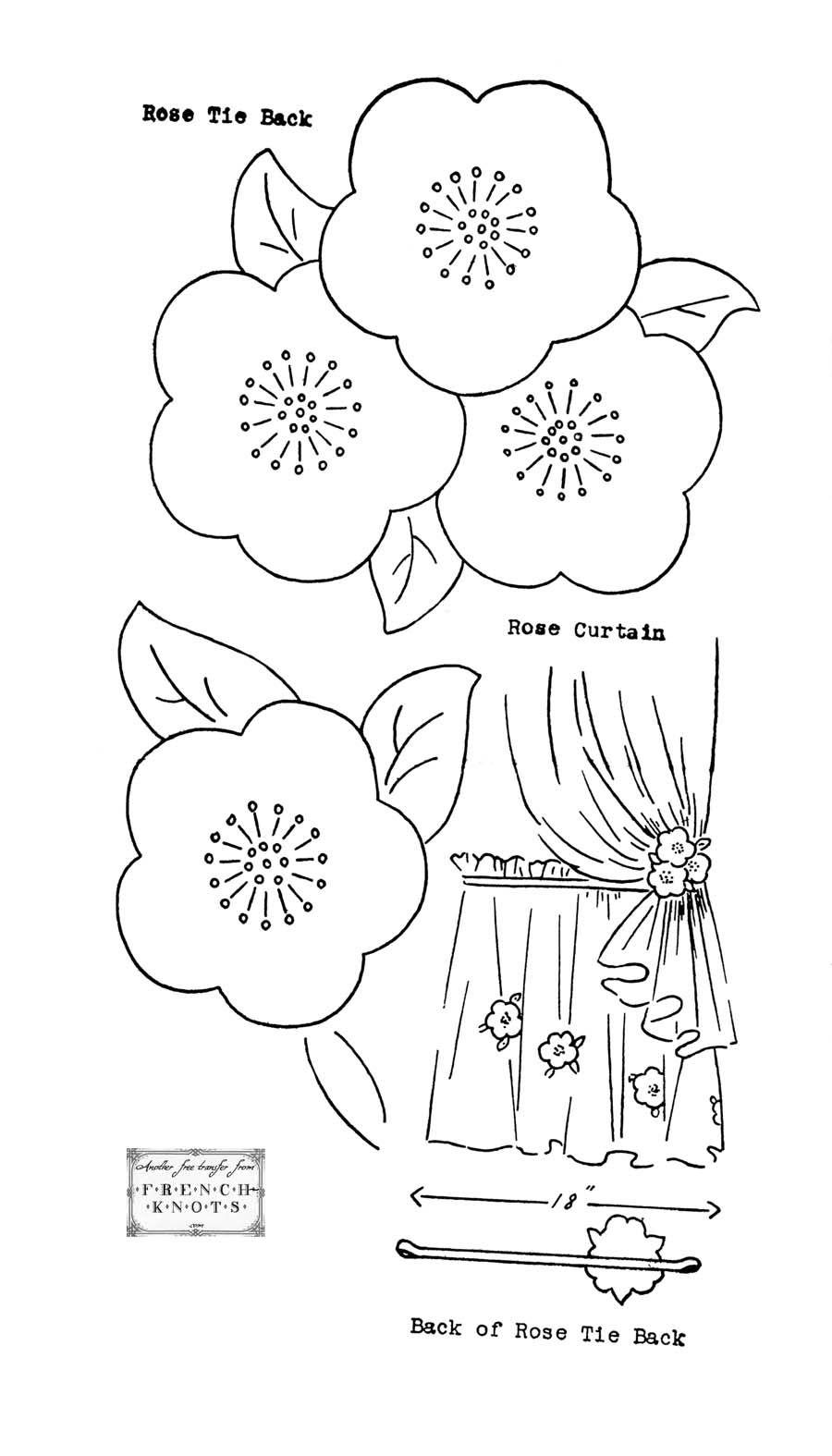 Flowers & Nature Embroidery Patterns   Dibujos   Pinterest   Bordado ...