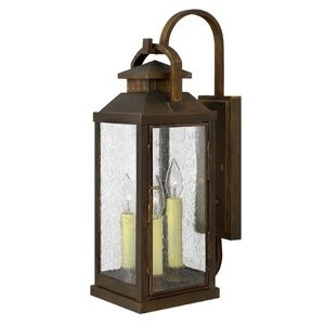 Love this product i found it on shopferguson outdoor hinkley lighting 1185 height 3 light lantern outdoor wall sconce from the sienna outdoor lighting wall sconces outdoor wall sconces mozeypictures Image collections