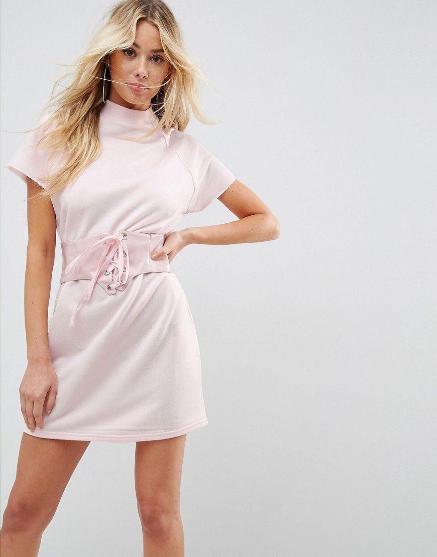Pink Dresses Consigue Este Tipo De Vestido Informal Asos Ahora Haz Clic Para Ver Los