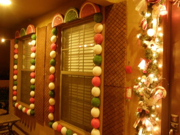 Outdoor Gingerbread house PaRtY! Pinterest Christmas