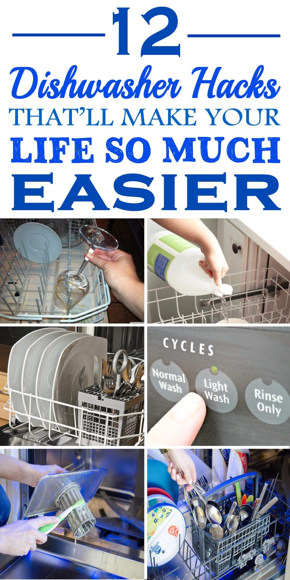 These 12 Dishwasher Hacks Are Just Genius Glad To Have Found