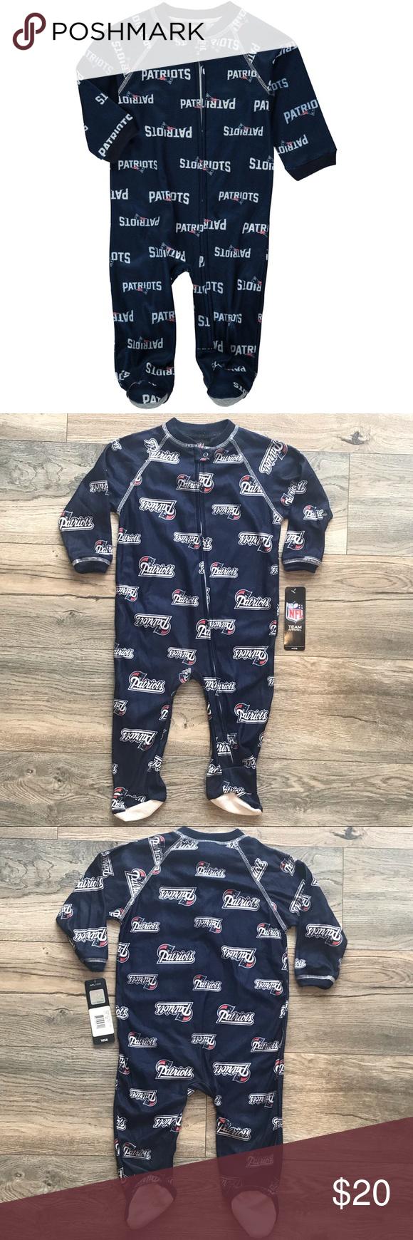 NCAA Wisconsin Badgers Logo Zip Footed Pajama 69M Foot