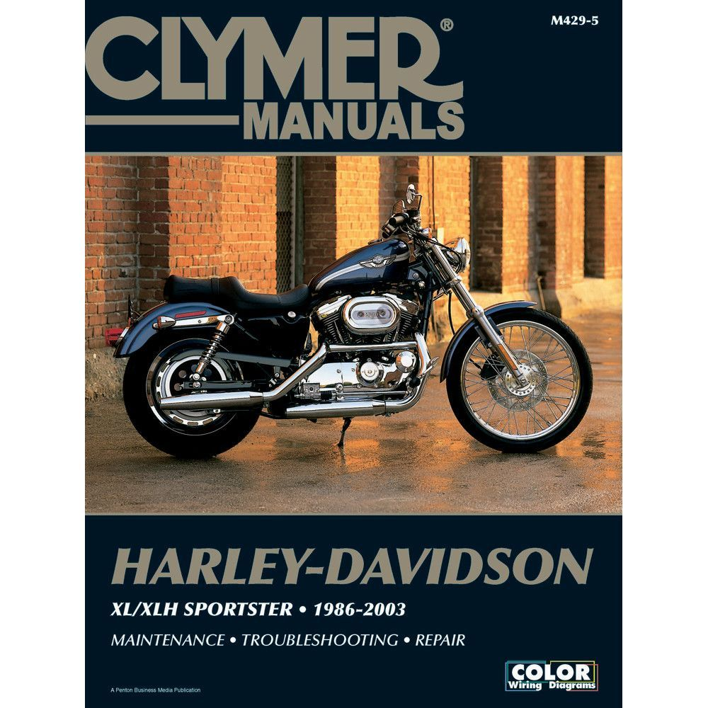 Clymer motorcycle repair manuals are written specifically for the  do-it-yourself enthu