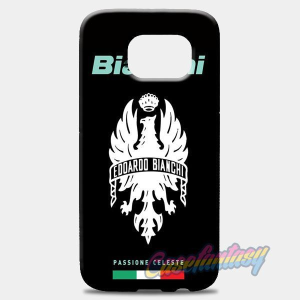 Eddardo Bianchi Passione Celeste Samsung Galaxy S8 Plus Case | casefantasy