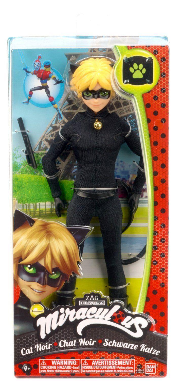 "Miraculous Ladybug Action Figure Cat Noir Zag Heroez 5.5/"" BANDAI"