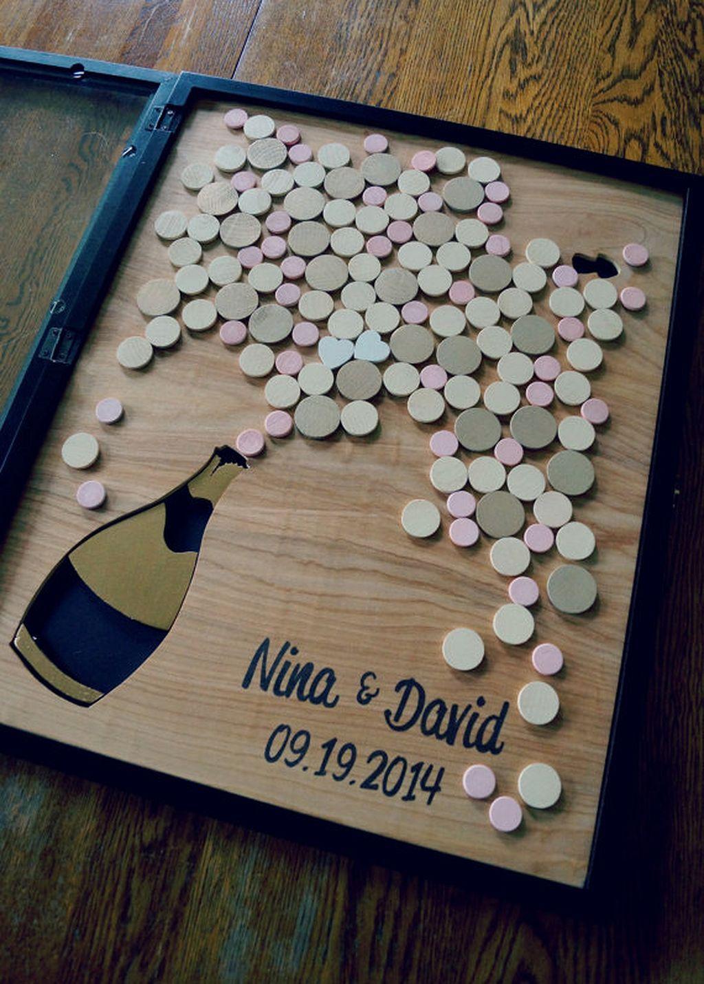 40 Unique Wedding Guest Book Ideas Unique weddings Unique and