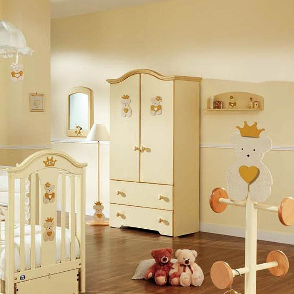 Baby Wardrobe Caprise Royal By Pali Nuresery Interior Design