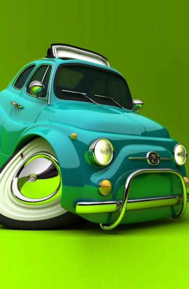 Coolie O Car Dream Car Jk Fiat 500 Fiat Cars Car Wallpapers