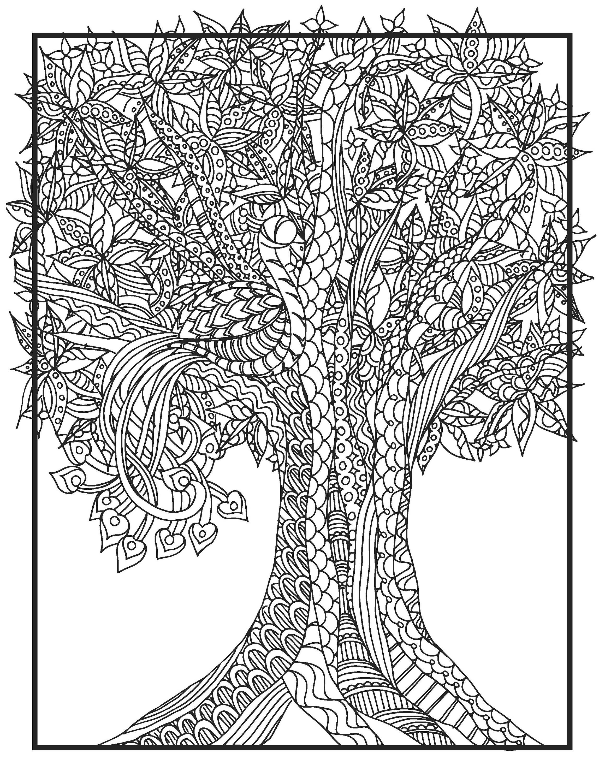 Cool Print Your Own Coloring Book 79 DIY Zendoodle Bird