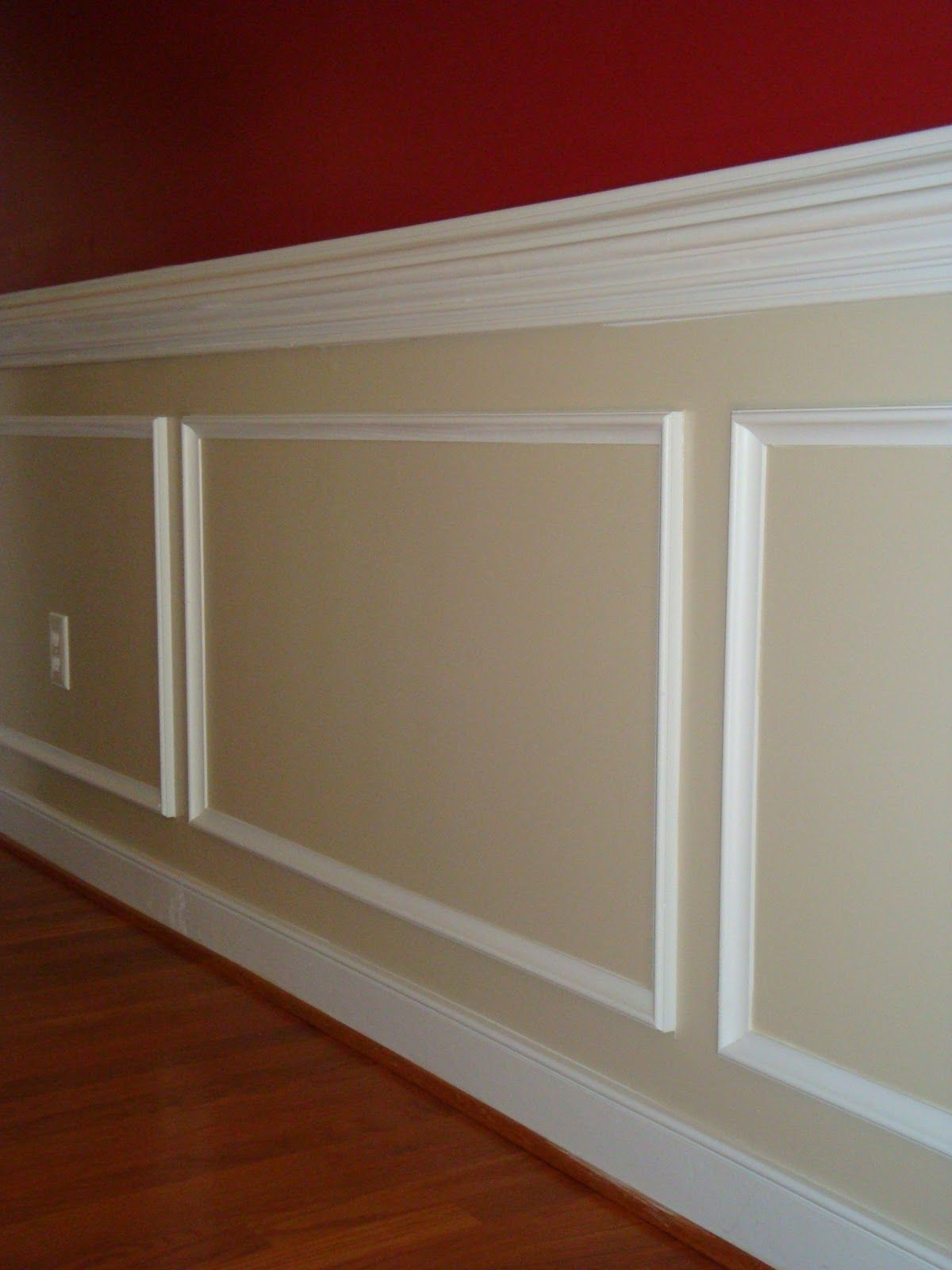 Wood Chair Rail Ideas Part - 33: Crown Molding Ideas | ... See Chair Rail Molding Along The Foyer This  Attractive