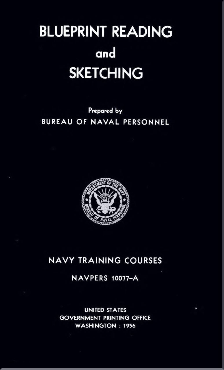Aircraft Blueprints Reading and Sketching NAVY Training Courses Manual -  1956 - NAVPERS 10077-A - Aircraft Reports - Aircraft Manuals - Aircraft  Helicopter ...