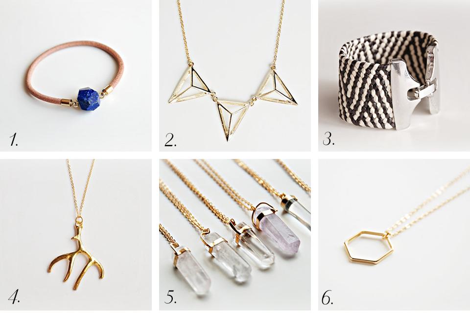 boutique minimaliste bijoux