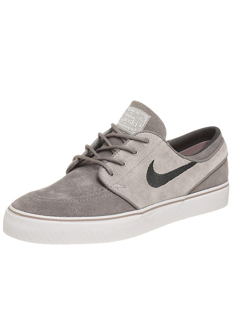 super popular 296e8 35609 Nike SB Janoski Shoes Soft Grey Grey Black