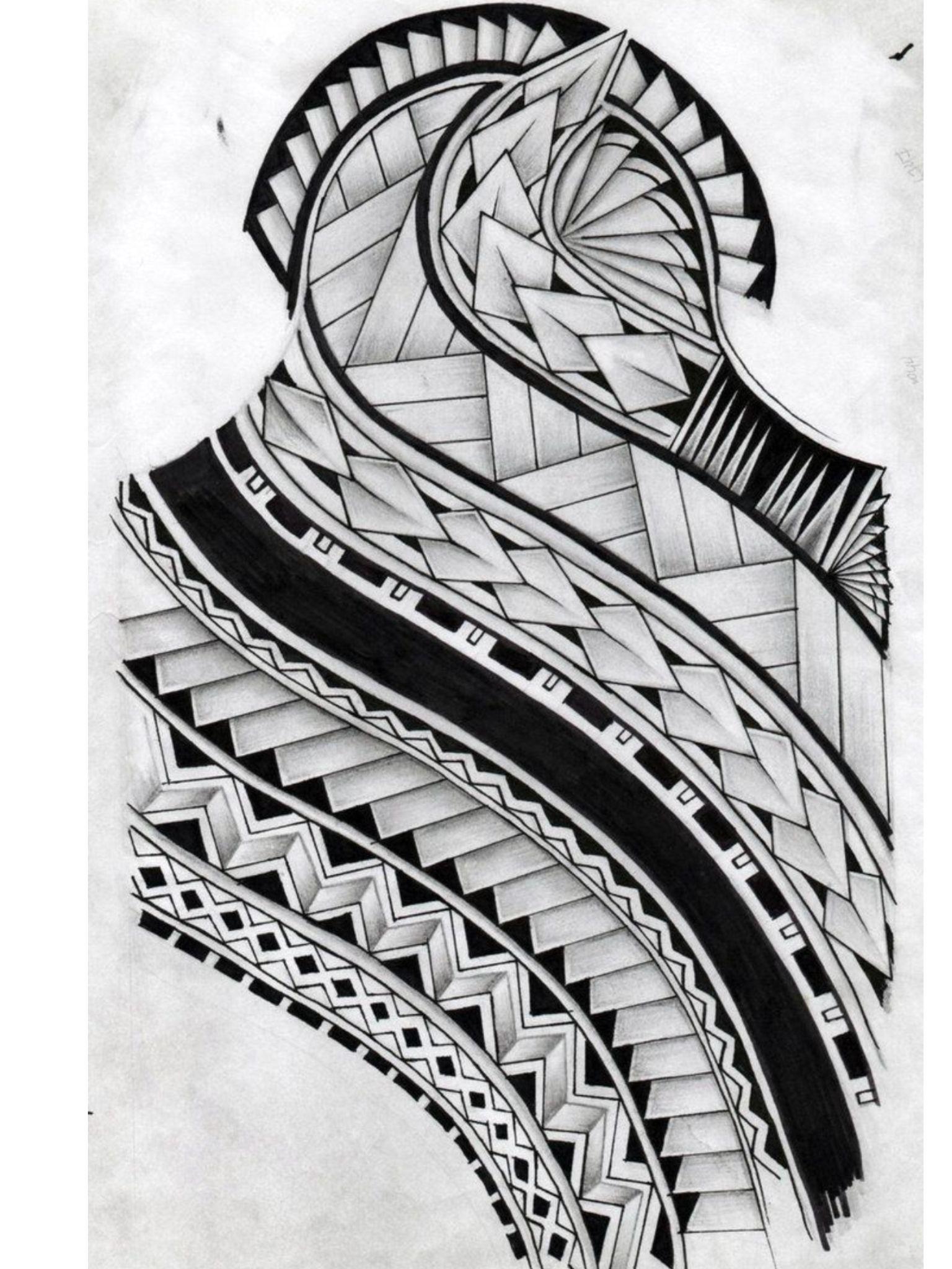 Maori Patterns Tattoo: Samoan Tattoo, Polynesian Tattoo Designs, Maori