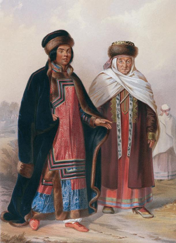 История сибирских татар   Старые фото, Национальный, Россия