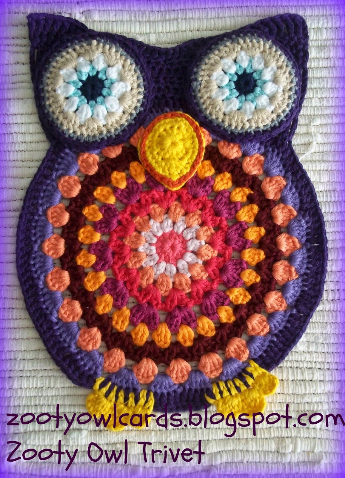 Zooty owl trivets pattern zooty owls crafty blog crochet for zooty owl trivets pattern zooty owls crafty blog bankloansurffo Image collections