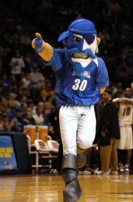 The Pirate Seton Hall Pirates Mascot Seton Hall Basketball Seton Hall University Mascot