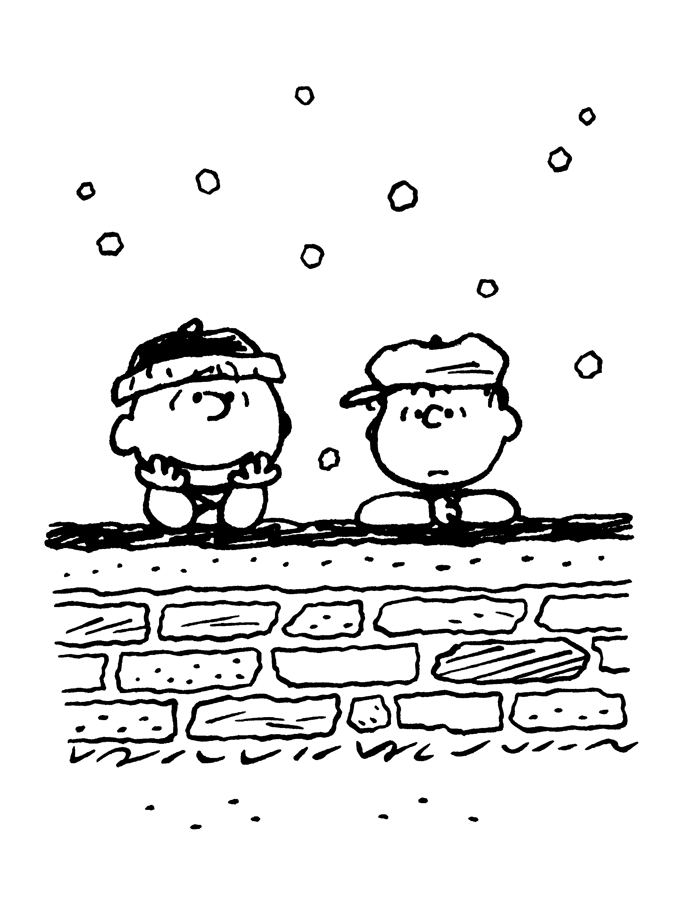 Charlie Brown and Linus van Pelt | Cartoon characters | Pinterest ...