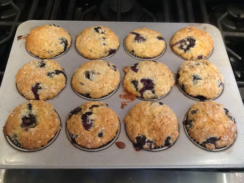 Blueberry Coffee Cake Muffins Recipe Coffee cake