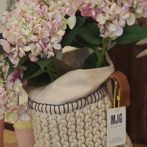 New @mr_jason_grant products in store including these gorgeous cotton knit baskets #beachwood #avalon #beachhomewares by beachwooddesigns #beachhomewares