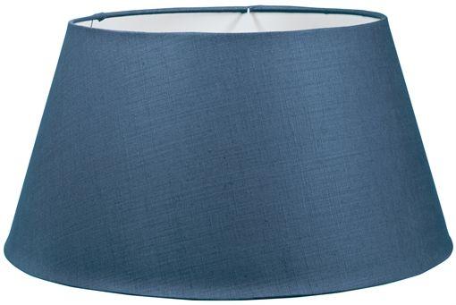 Neptune henry blakeney blue linen lampshade