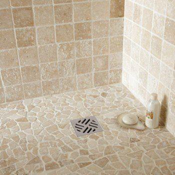 Galets sol et mur Opus ivoire | Leroy Merlin | Sdb | Pinterest ...