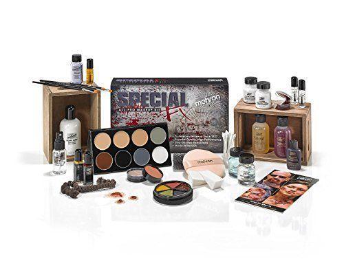 Mehron Special Effects Makeup Art Fx Kit All Professional Complete Set Mehron Fx Makeup Kit Makeup Kit Special Effects Makeup