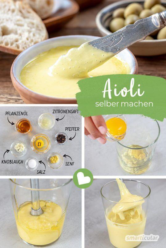 Aioli einfach selber machen: So gelingt der köstliche Knoblauch-Dip #healthymarshmallows