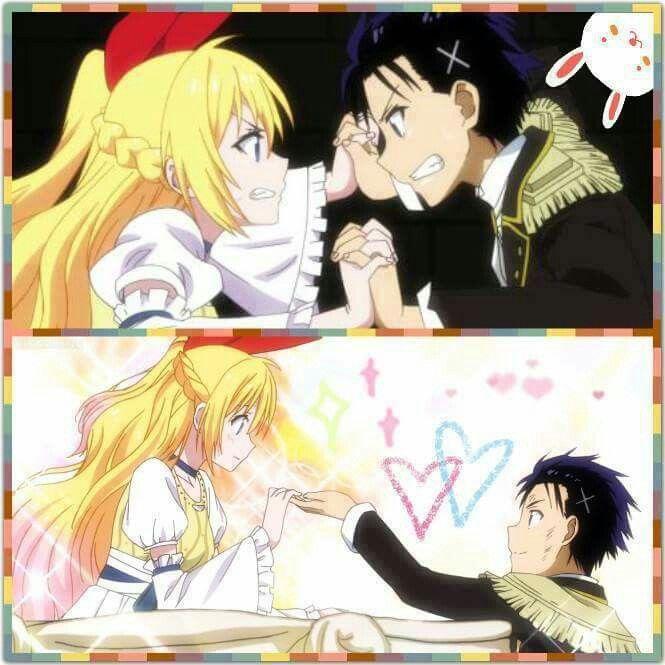 Chitoge and Raku (Romeo and Juliet)